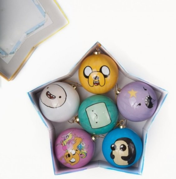 Adventure Time Christmas Baubles