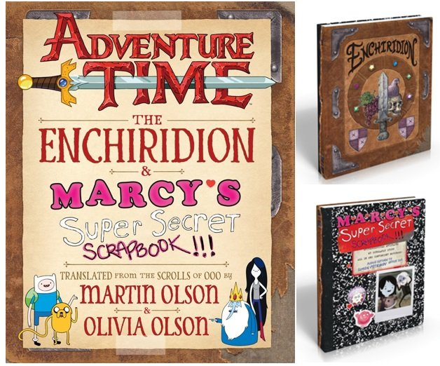 Enchiridion and Marcy's Scrapbook