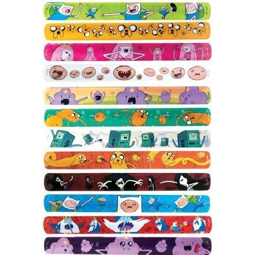Adventure Time Slap Bracelet