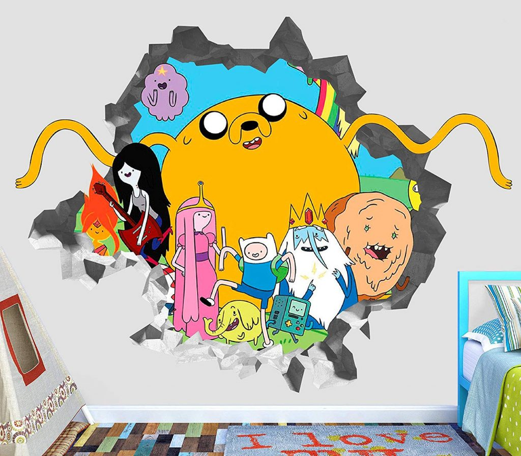 Adventure Time Wall Decal