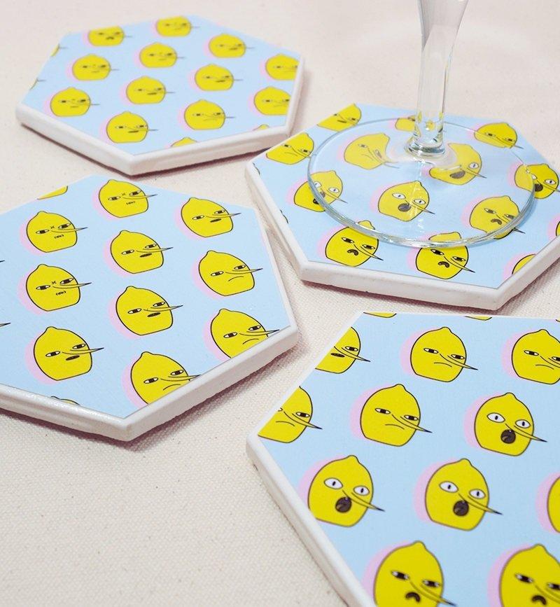 Earl of Lemongrab Coasters