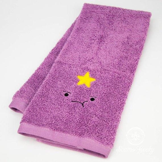 Lumpy Space Princess Towel