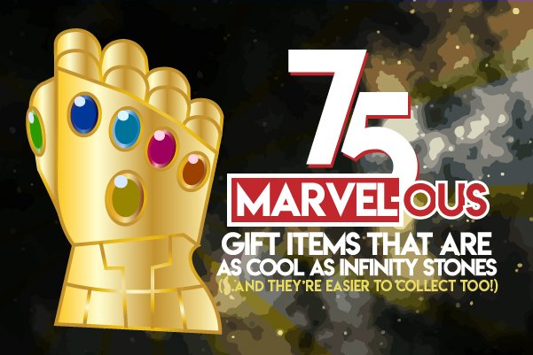 75 Marvel Ous Gift Items That Are As Cool As Infinity Stones Nuff Yet