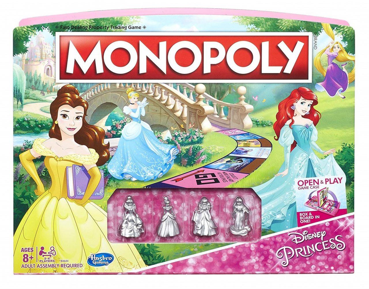 Disney Princess Monopoly