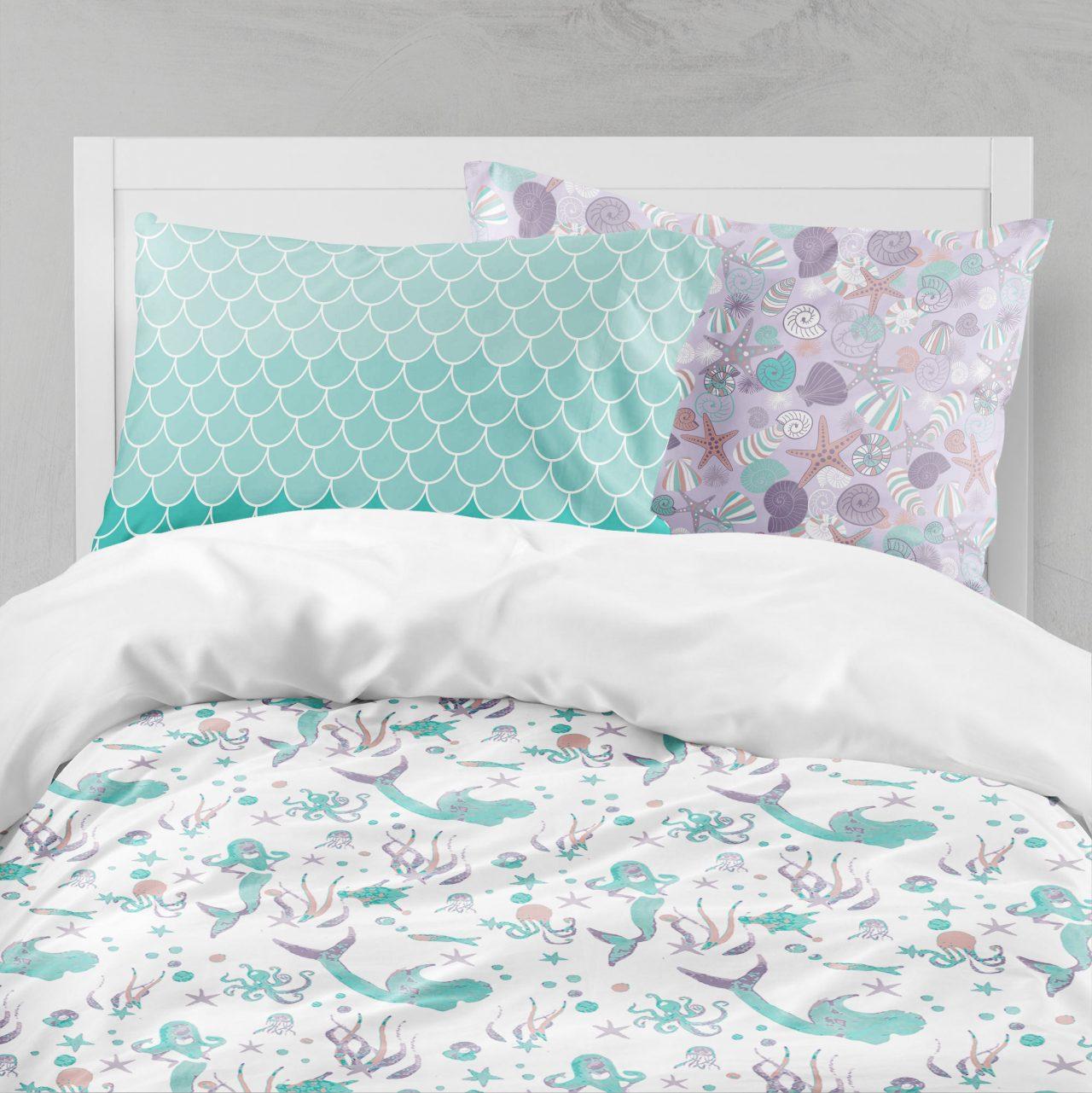 Mermaid Bedding Set