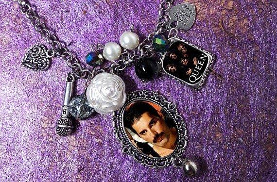 Freddie Mercury charm bracelet
