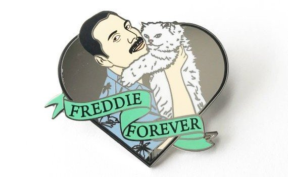 Freddie Forever pin