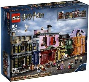 Big LEGO sets Diagon Alley